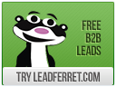 LeadFerret offers  millions of business contacts.It's 100% free,